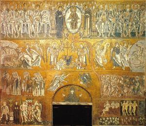 Страшный Суд. Мозаика в Торчелло
